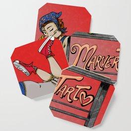 MarverTart Coaster