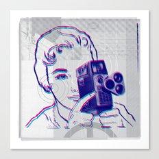 3D Camera Canvas Print