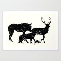 marauders Art Prints featuring Marauders by chardeekellys