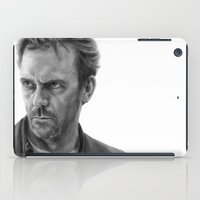 house md iPad Cases featuring House by robo3687