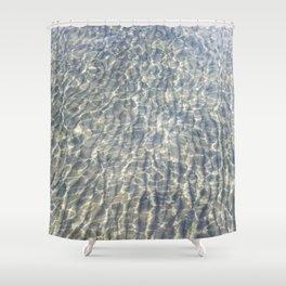 When Light Meets Water Shower Curtain