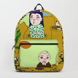 Human gophers Backpack