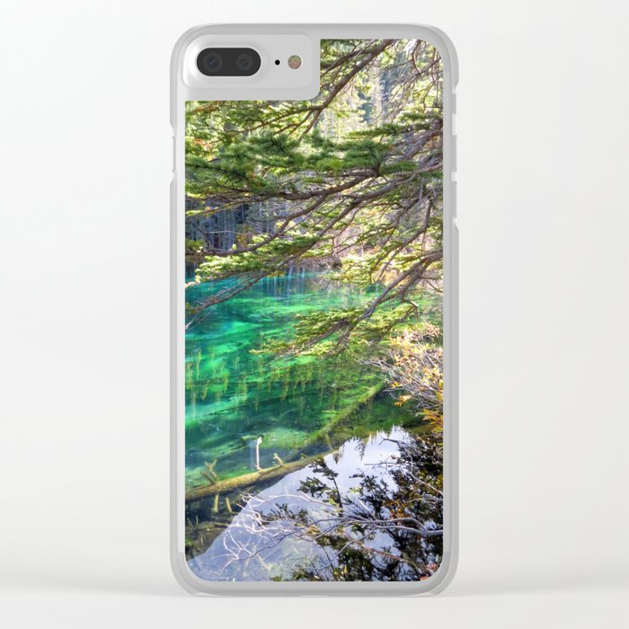 green clear iphone 7 case