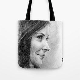 Evangeline Lilly Tote Bag
