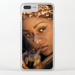 Reclaiming Saturday Clear iPhone Case
