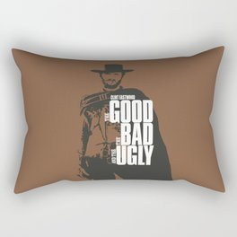 The Good The Bad And The Ugly Rectangular Pillow