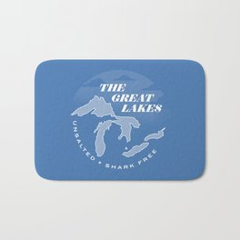 The Great Lakes - Unsalted & Shark Free (Inverse) Bath Mat