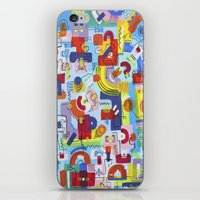 game iPhone & iPod Skins featuring Game by Tanja K