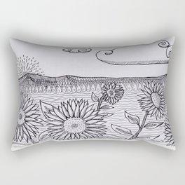 Un nuevo amanecer Rectangular Pillow