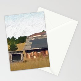 Old Ontario Barn Stationery Cards