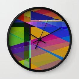 rejoice in color Wall Clock
