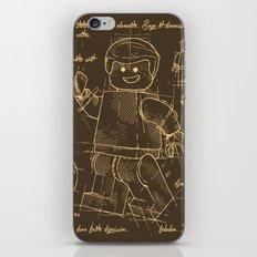 Plan Lego iPhone & iPod Skin