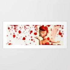 Fairy's Kiss Art Print