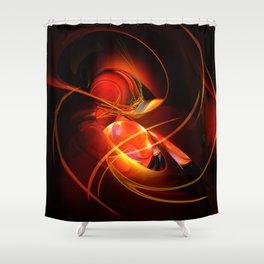 Feuertanz Shower Curtain