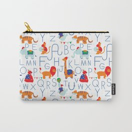 Alphabet Circus Carry-All Pouch