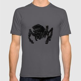Retrofit Crab Mech T-shirt