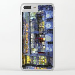 Ye Old Shambles Tavern York Art Clear iPhone Case