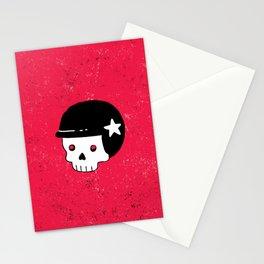 skull dude Stationery Cards