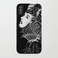 bioworkz iPhone & iPod Cases featuring Maleficent Tribute by BIOWORKZ