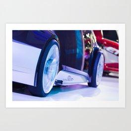 Toyota iiMo Wheels Art Print