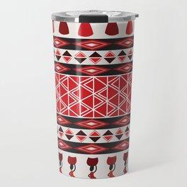 African Tribal Pattern No. 85 Travel Mug