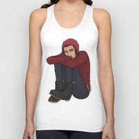 zayn Tank Tops featuring Comfy Zayn by Ashley R. Guillory