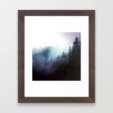 The echos Framed Art Print