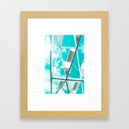 Technicolor Abstract Framed Art Print