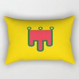 Flag of auvergne Rectangular Pillow