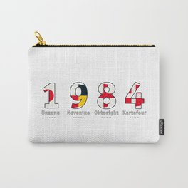 1984 - NAVY - My Year of Birth Carry-All Pouch