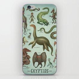 CRYPTIDS iPhone Skin