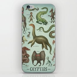 CRYPTIDS iPhone Skin
