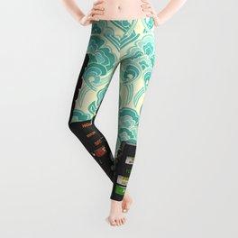 Atari & Jellyfish Wallpaper Leggings