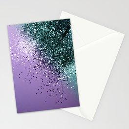 Mermaid Glitter Dream #2 #shiny #decor #art #society6 Stationery Cards