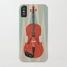 The Red Violin iPhone X Slim Case