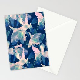 Ultramarine Orchid Stationery Cards