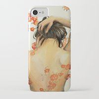 wallet iPhone & iPod Cases featuring Blend In by Madelyne Joan Templeton