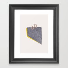 Quicksand Framed Art Print