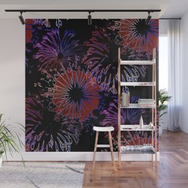 labor day pattern Wall Mural