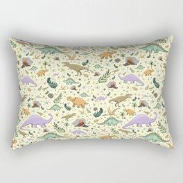 Cute Dinosaurs Rectangular Pillow