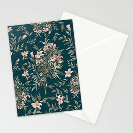 Small Floral Branch Stationery Cards