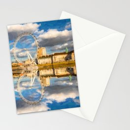London Eye Art Stationery Cards