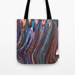 Fluid Acrylic VII - Original, textured, painting Tote Bag
