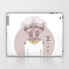 gemini astro portrait Laptop & iPad Skin