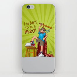 Hero Boy iPhone Skin