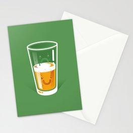 Pessimistic Optimist Stationery Cards