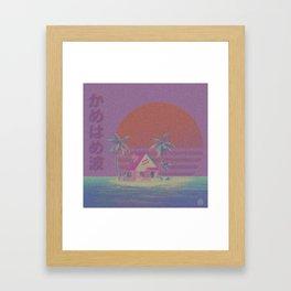 K a m e h o u s e Framed Art Print