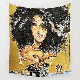 black girl magic Wall Tapestry