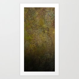 Chocolate and Lime and Heavy Black Art Print