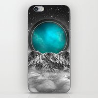 stargate iPhone & iPod Skins featuring Fade Away (Lunar Eclipse) by soaring anchor designs